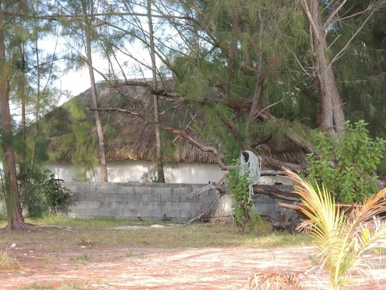 Bora Bora Ecolodge: sur le motu