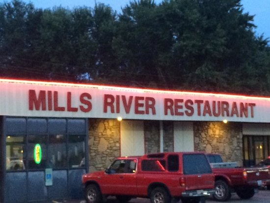 Mills River Restaurant : Good diner.