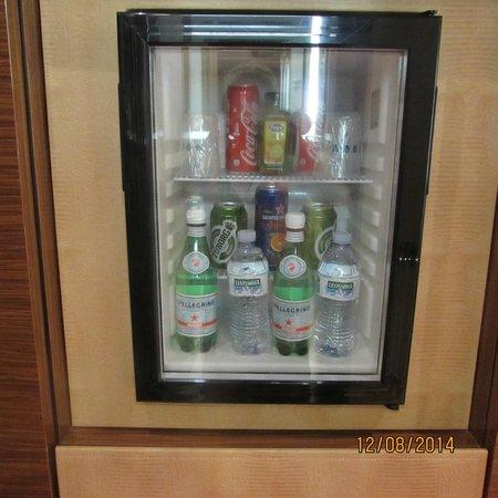 UNA Hotel Roma: frigobar