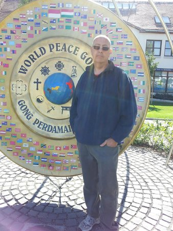 Godollo, Hungary: World Peace Gong