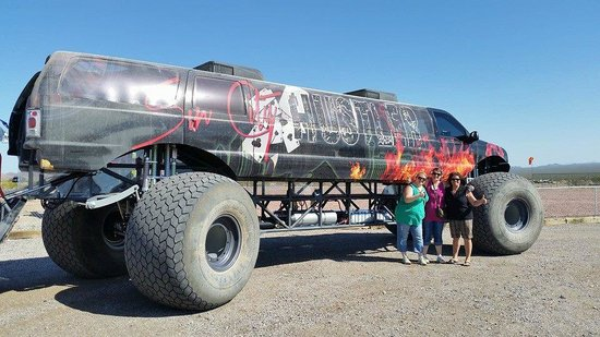 Bullets and Burgers: Largest monster truck in the world!