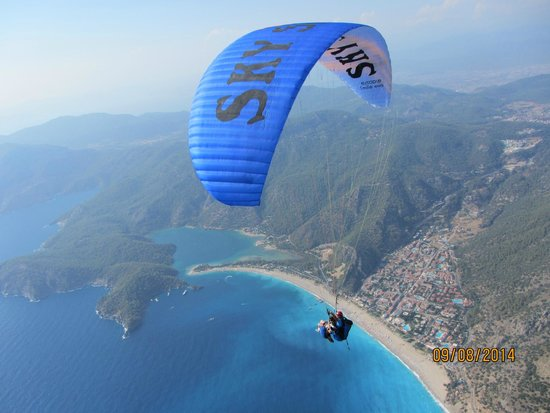 Sky Sports Paragliding: Stunning views