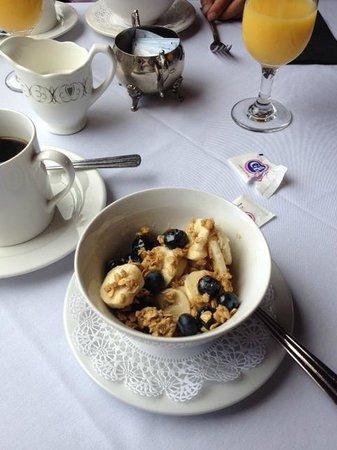Knickerbocker Mansion Country Inn: Breakfast Appetizer