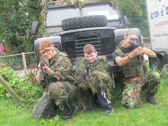 Hidden Valley Holiday Park Adventure Tours: The hidden commandos
