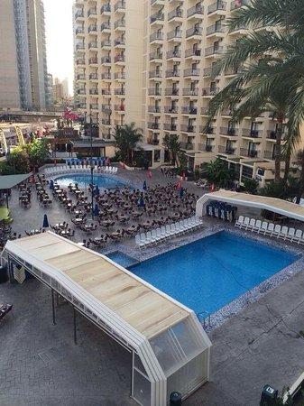 Hotel Ambassador Playa: Pool view