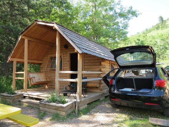 Our Cabin Picture Of Deadwood Koa Deadwood Tripadvisor