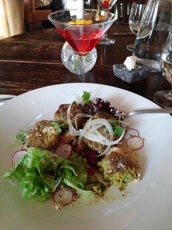 Humarhusid: Barley Cakes/vegetarian