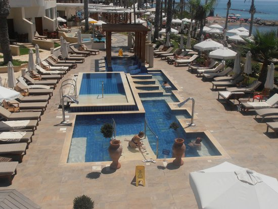 Alexander The Great Beach Hotel: Serenity Pool Area