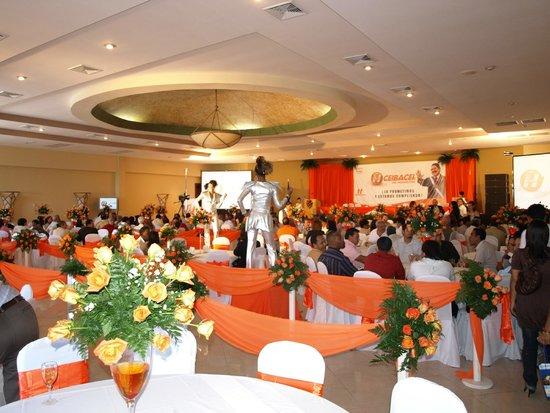 Quinta Real Hotel and Convention Center: salon para conferencias