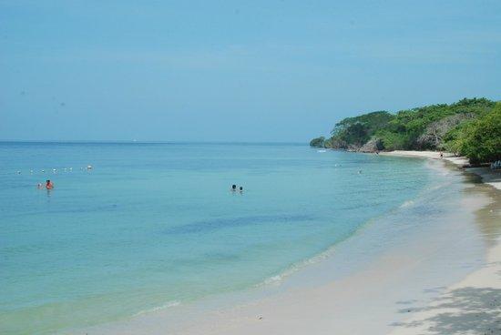 Hotel Isla del Encanto: vista de la playa