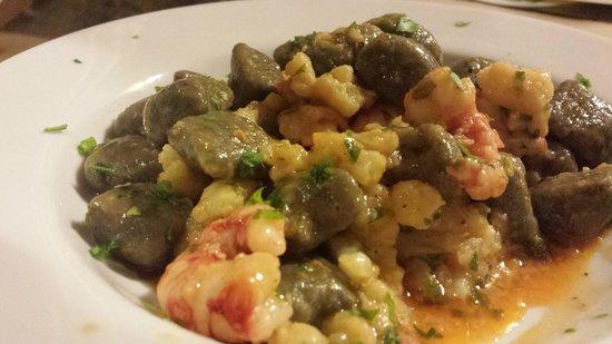 """Ristorante """"Terracotta"""": Gnocchi di """"sinapa"""" broccolo e gamberi"""