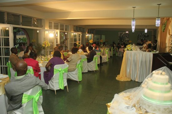 Mandeville Hotel: wedding reception/dining