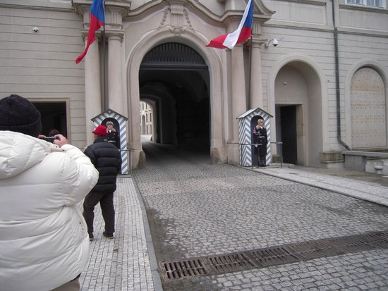 Château de Prague : 守衛さん