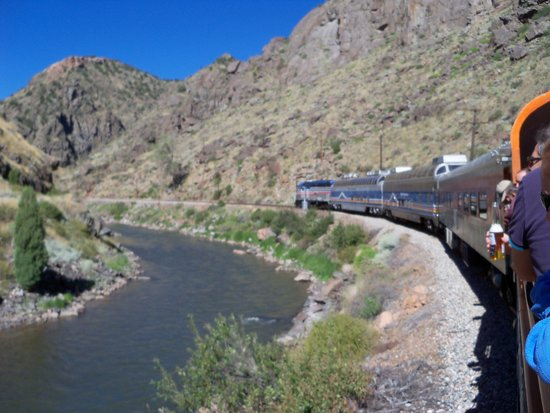 Royal Gorge Route Railroad: Arkansas River