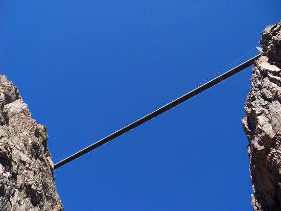 Royal Gorge Route Railroad: Royal Gorge suspension bridge