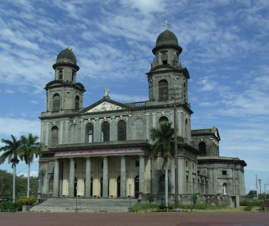 Antigua Catedral de Managua : I took this photo on a nice day in Managua.