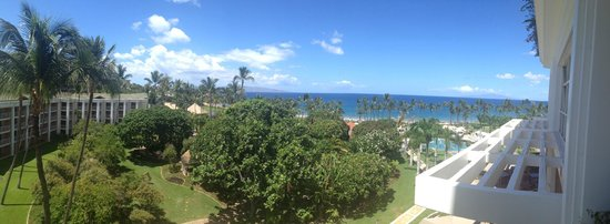 Grand Wailea - A Waldorf Astoria Resort: Looking out to the pool and beach