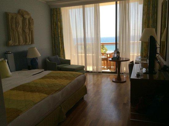 Le Meridien Limassol Spa & Resort : Ocean view room