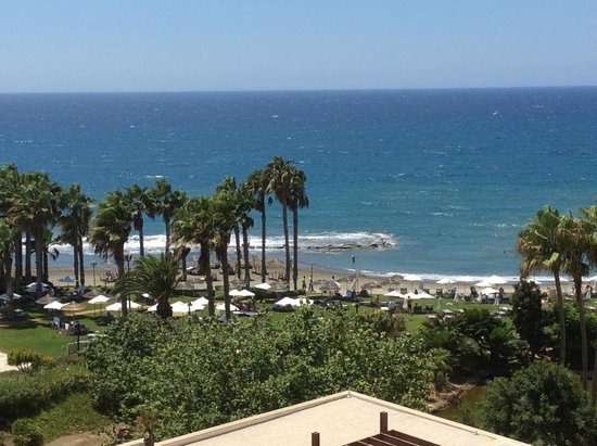 Le Meridien Limassol Spa & Resort : View from the room
