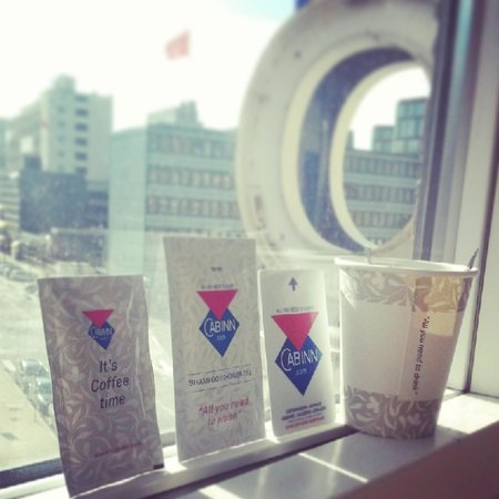 Cabinn City Hotel: Freebies and view...