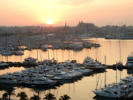Gran Melia Victoria : Sunrise over Palma