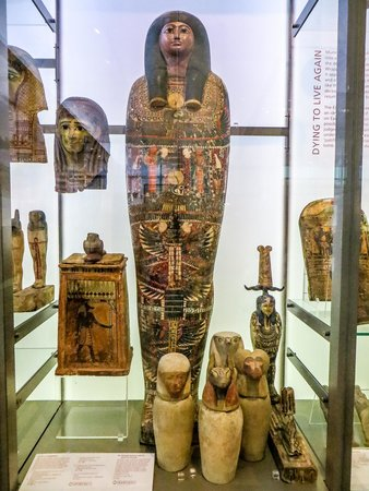 The Manchester Museum: Mummies in the Shoecase!