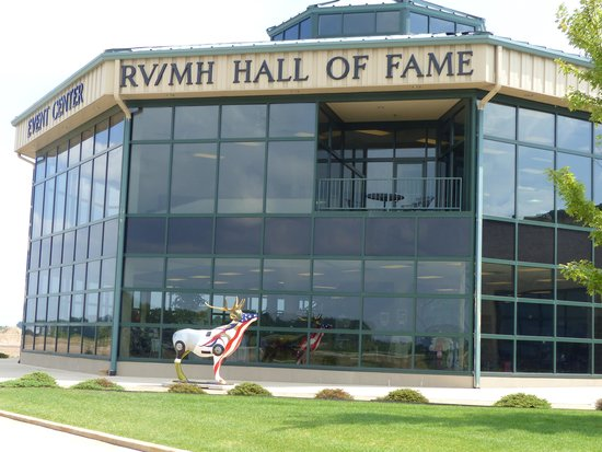 RV/MH Hall of Fame and Museum: Main building