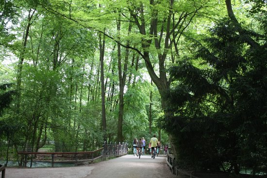 Englischer Garten: A lovely peaceful stroll in the park