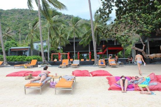 The Coast Resort - Koh Phangan: View from the sea