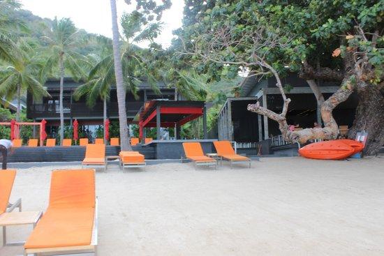 The Coast Resort - Koh Phangan: View of the resort from the sea