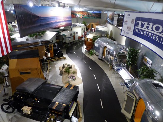 RV/MH Hall of Fame and Museum: Overlooking a small portion of the collection
