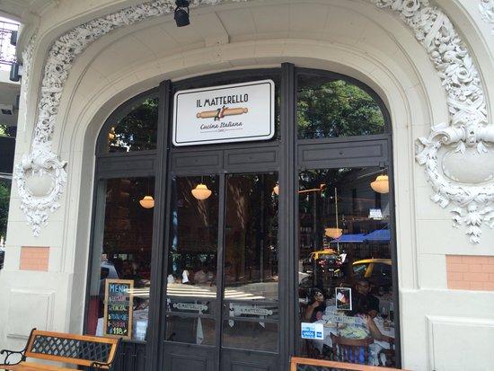 Photo of Italian Restaurant Il Materello at Martin Rodriguez 517, Buenos Aires 1425, Argentina