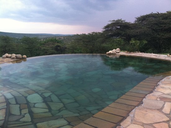 Cottar's 1920s Camp & Bush Villa: Breathtaking pool