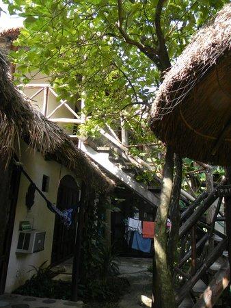 Hotel Kin Ha Pueblo: area comun