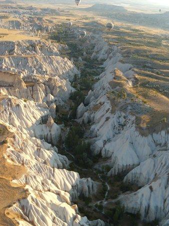 Goreme Balloons: Vista desde el globo - Love Valley