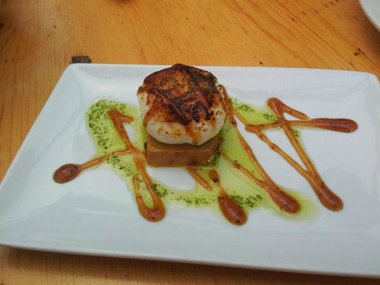 Restaurante Gran Sol: Foie con queso