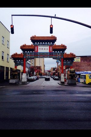 Chinatown Gate: Best part...the entrance, before you entered.