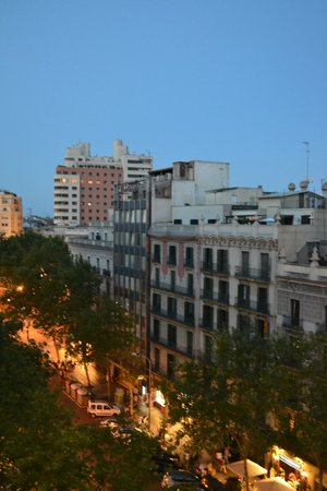 Catalonia Square : View from balcony