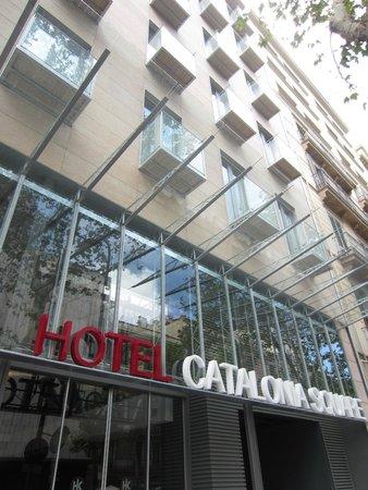 Catalonia Square: Exterior view