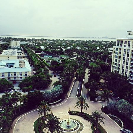 The Ritz-Carlton Key Biscayne, Miami: View from the balcony