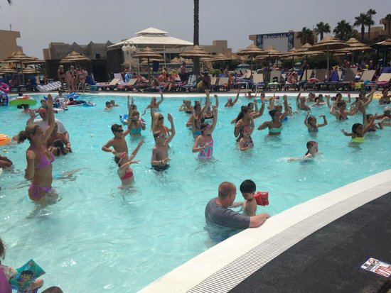 Occidental Lanzarote Mar: Water aerobics
