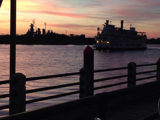 Hilton Wilmington Riverside: On the river.