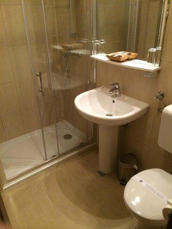 Hotel Jagerhorn: clean bathroom, great shower