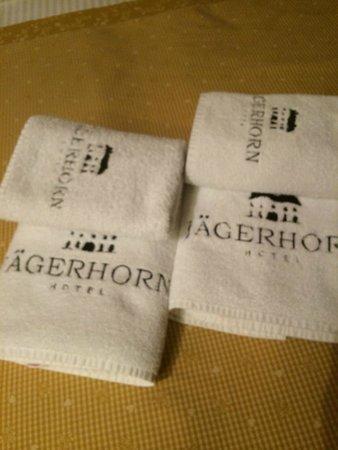 Hotel Jagerhorn: so many towels :)