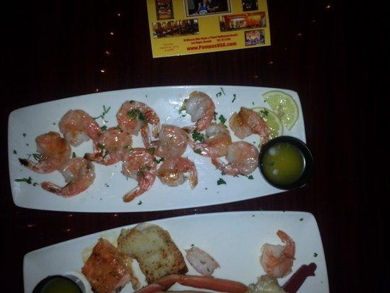 Pampas Brazilian Grille: seafood dish