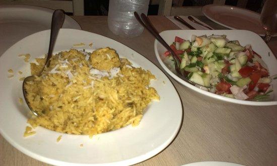 Dubb Ethnic Restaurant: beriani rice