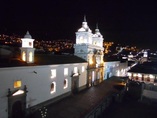 Casa Gangotena: view from the top (terrace)
