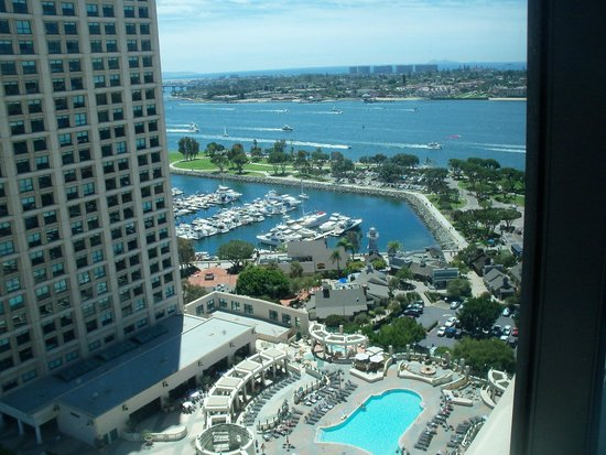 Manchester Grand Hyatt San Diego: One view from the 22nd floor - looking to the west