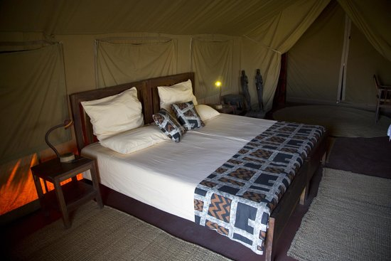 Olduvai Camp: Our Bedroom