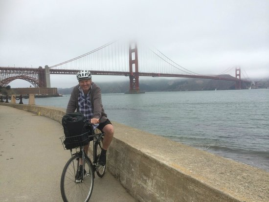 Streets of San Francisco Bike Tours: me and a bridge